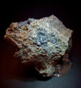 Cuarzo Azul - Olvera, Cadiz - 9x7 cms 24,99€
