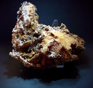 Cuarzo blanco recubiertos de limonita - Mina trinidad, Benalmadena, Malaga - 12x8 cms 23,99