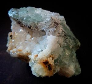Fluorita verde en matriz - Marruecos - 6x4