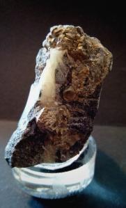 Piritas en matriz - Bou Nahas Mine, Oumjrane mining area, Alnif, Tarhbalt, Er Rachidia Marruecos - 5x5